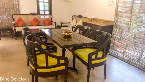 Indoor Seating Arrangement