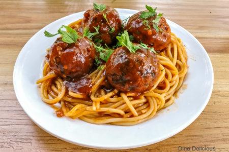 Meaty Balls Spaghetti