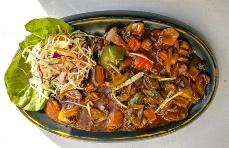 Mushroom in Teriyaki Sauce