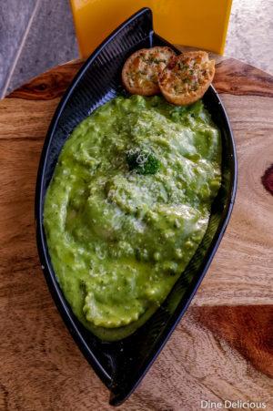 Ravioli in Broccoli