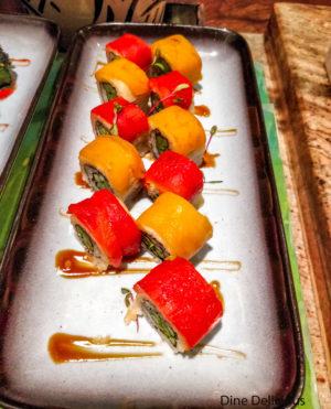 Sushi at Japanese Station