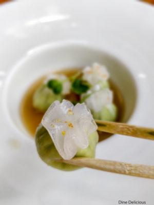Truffle & Edmame Dumplings