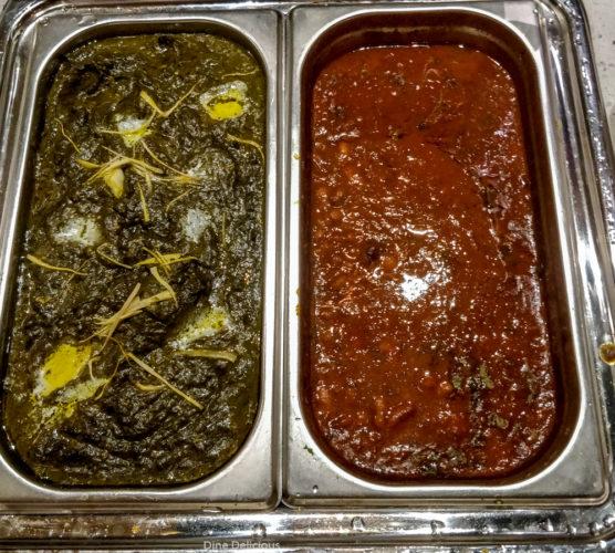 Sarso ka Saag & Rajma Curry
